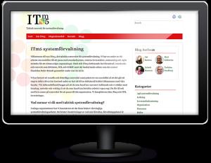 Hjälp med hemsida till ITm5