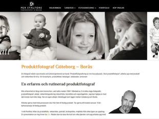 Hemsida till Foto & Design Per Stålfors