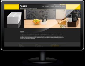 Bygga hemsida till Nunki